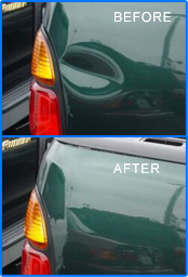 dENT BEFORE AFTER PDR