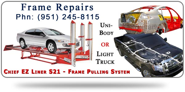 Bent Car Frame Repair