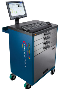 Velocity Frame Laser Diagnostics Computer