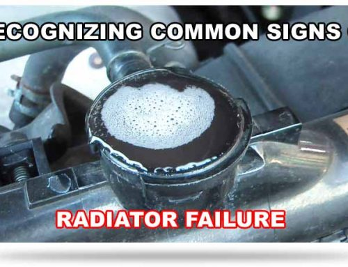 Common Signs Of Car Radiator Failure