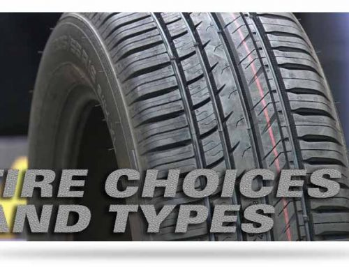 Choosing The Right Tire For Your Car