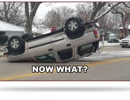 Upside Down – Turned All Around – After An Auto Accident